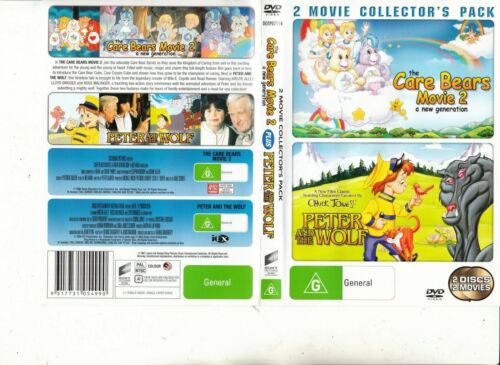 The Care Bears:Movie 2-1986/Peter And The Wolf-1995-[2 Movie]-Animated TCB-2 DVD