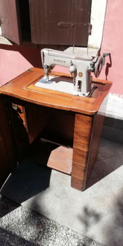 Machina da cucire Singer 306 Con Mobile Epoca