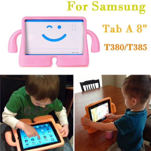 Heavy Duty Kid Friendly EVA Case Cover For Samsung Galaxy Tab A 8.0 T380 T385 SM