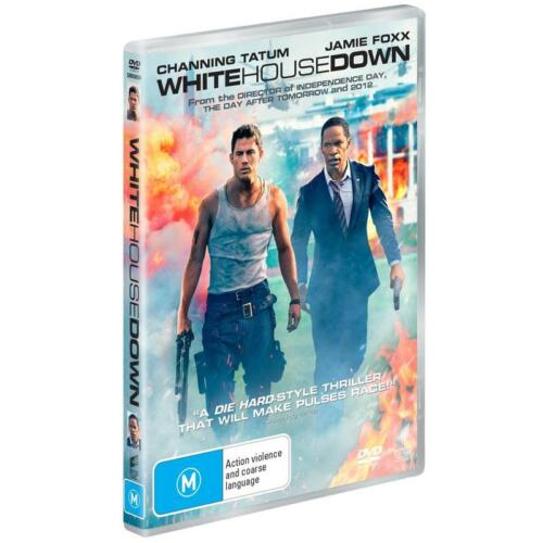 WHITE HOUSE DOWN DVD, NEW & SEALED, FREE POST