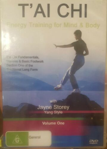 T'AI CHI ENERGY TRAINING FOR BODY AND MIND TAI RARE DVD INSTRUCTIONAL FILM *NEW*
