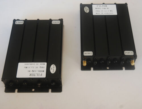 2pcs 30W 66-88MHz Bandpass Filter VHF or 2meter 70cm with SMA-Female Connectors
