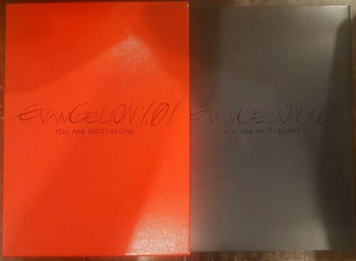 NEON GENESIS EVANGELION 1.01 YOU ARE NOT ALONE RARE SLIPCASE DVD ANIMATION ANIME