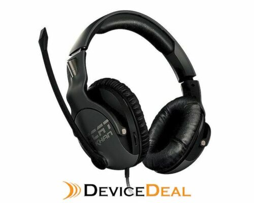 Roccat Khan Pro Competitive Gaming Headset - Grey