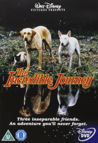 The Incredible Journey DVD Disney Region 4 (AUS) New & Sealed