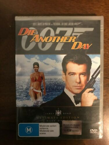 Die Another Day DVD 2 Disc Special edition Fully Restored Region 4 New & Sealed