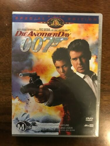 007 Die Another Day DVD 2 Disc Special Edition Region 4 New & Sealed