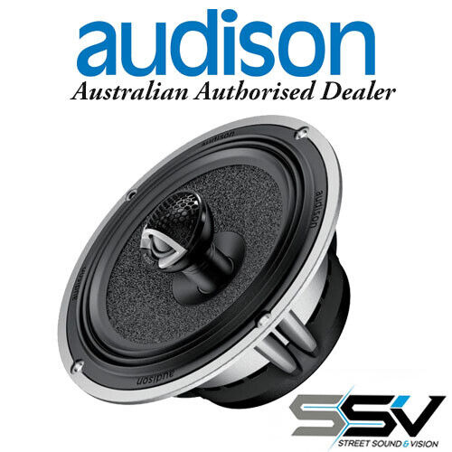 Audison AVX6.5 2 Way Coaxial 6.5 inch Speakers