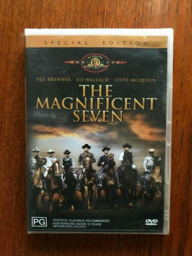 The Magnificent Seven DVD Region 4 New & Sealed