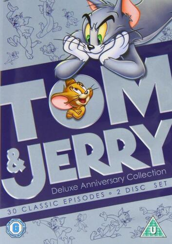 TOM & JERRY Deluxe Anniversary Collection DVD Region 4 (AUS) New & Sealed