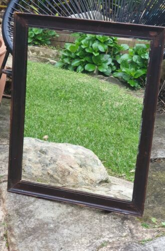Antique Wooden Frame with Mirror