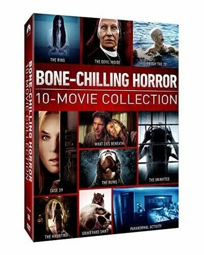 Bone-Chliing Horror: 10-Movie Collection [New DVD] Boxed Set, Dolby, D