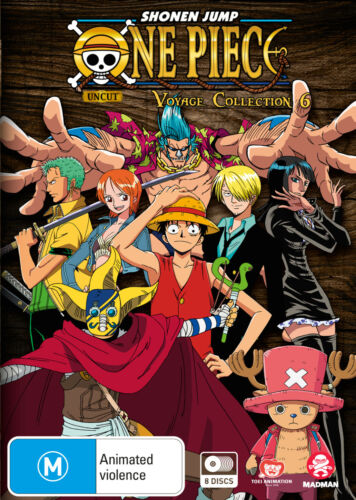 ONE PIECE VOYAGE COLLECTION 6 (EPISODES 253-299) DVD NEW