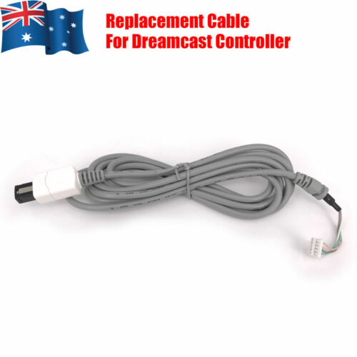 Replacement Controller Cable Cord for Sega Dreamcast Game Pad 2M