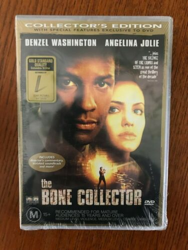 The Bone Collector DVD Region 4 New & Sealed