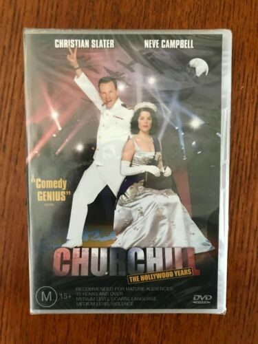 Churchill - The Hollywood years DVD Region 4 New & Sealed Christian Slater
