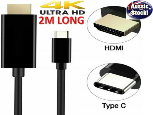 USB C to HDMI Cable USB Type C to HDMI 4K Cord For Samsung S20 S10 S9 Note 10 5g