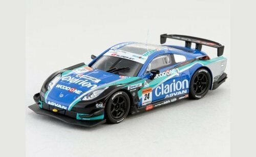 VOITURE Kyosho Woodone Advan Clarion Z, black/blue/green 1/64 2007 kyo6581H