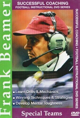 Successful Coaching: Football: Frank Beamer - Special Teams (REGION 1 DVD New)