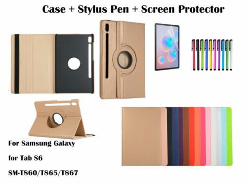 """Rotate PU Leather Cover Case for Samsung Galaxy Tab S6 10.5"""" [2019] T860/T865"""