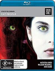CAT PEOPLE BLU RAY - NEW & SEALED PAUL SCHRADER, R RATED FREE POST