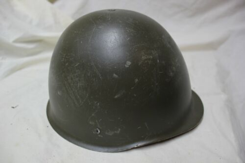 Polish Military Issue Army Combat Helmet Steel Pot with Liner Surplus   P4Hats & Helmets - 36062
