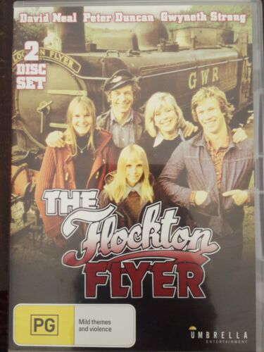THE FLOCKTON FLYER RARE DVD COMPLETE BRITISH TV SERIES DAVID NEAL & PETER DUNCAN