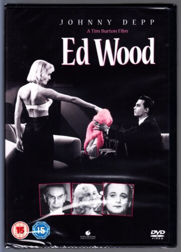 Ed Wood DVD (1995) Johnny Depp, Sarah Jessica Parker  Region 4 (AUS) New/Sealed