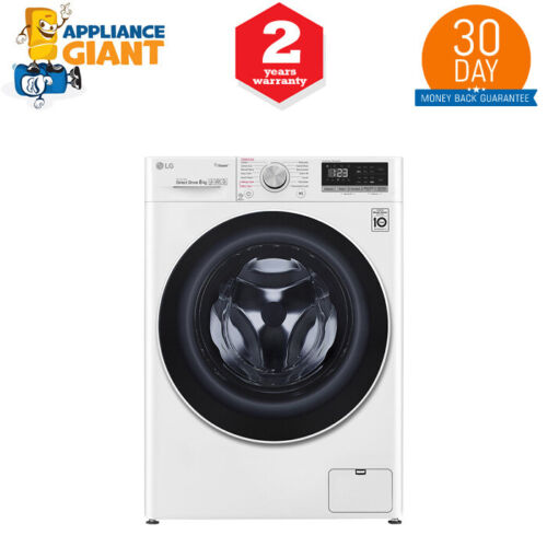 LG WV51408W 8Kg Front Load Washing Machine with Steam+