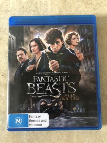 FANTASTIC BEASTS AND WHERE TO FIND THEM ON BLU RAY REGION B LIKE NEW