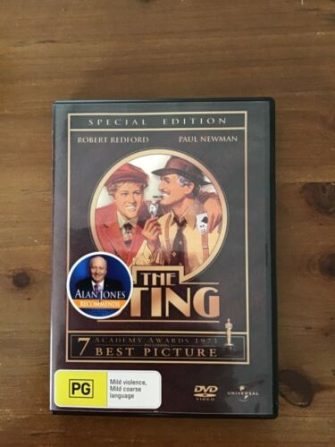 THE STING DVD MOVIE EXCELLENT CONDITION SPECIAL EDITION COMEDY CRIME PAUL NEWMAN