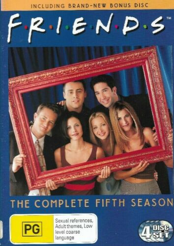 FRIENDS - COMPLETE FIFTH SEASON (4 DISC DVD SET) *New Price*
