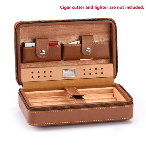 COHIBA Portable Cuban Humidor Case Leather Cigar Storage Box Father Men Gift <br/> 🥇 Fast Shipping ⚡【REAL】AU stock 📦 Tracking Available