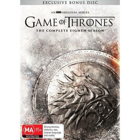 GAME OF THRONES SEASON 8  DVD, NEW & SEALED, 2019 RELEASE, FREE POST