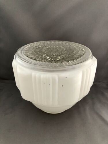 Vintage Round Glass Ceiling Light Shade