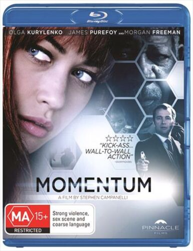MOMENTUM BLU-RAY, NEW & SEALED, 2015 RELEASE, FREE POST