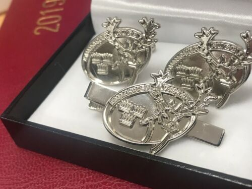 Munster Rugby Cuff Links & Tie Pin Set