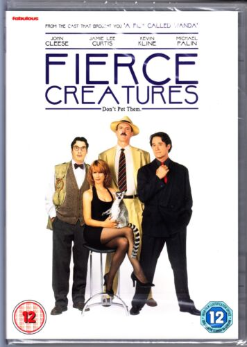 FIERCE CREATURES DVD (John Cleese Michael Palin) Region 4 (AUS) New & Sealed