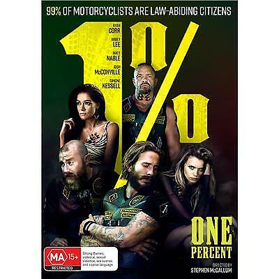 1% ONE PERCENT DVD, NEW & SEALED, 2019 RELEASE, FREE POST