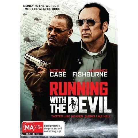 RUNNING WITH THE DEVIL DVD, NEW & SEALED, 2019 RELEASE, FREE POST