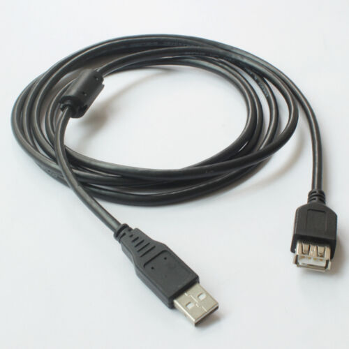 USB Extension Data Cable 2.0 A Male to A Female Long Cord for MacBook & Computer