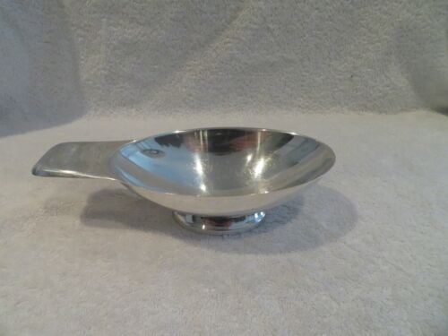 french Christofle silverplate sauce boat  C Fjerdingstad
