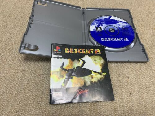 Descent 2  - Sony Playstation 1 PS1 PAL Australia Release