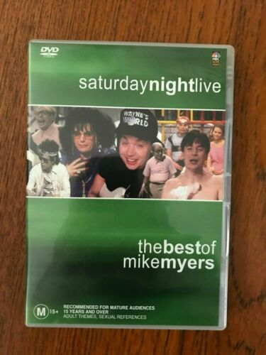 Saturday Night Live: The tBest Of Mike Myers DVD Region 4 Disc VGC Like New