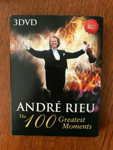 Andre Rieu: The 100 Greatest Moments DVD Region 4 Disc VGC
