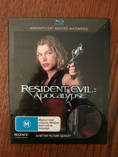 Resident Evil: Apocalypse With Slip Blu-ray Region Free Disc VGC