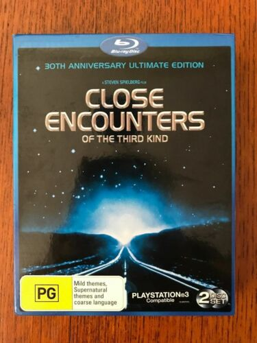 Close Encounters Of The Third Kind 30th Anniversary Blu-ray Region Free Disc VGC