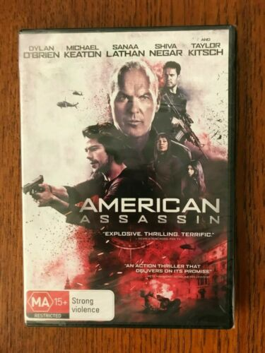 American Assassin DVD Region 4 New Dylan O'Brien, Michael Keaton, Sanaa Lathan