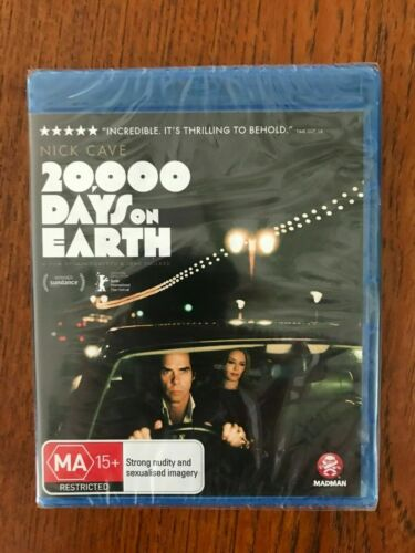 Nick Cave - 20,000 Days On Earth Blu-ray Region B New & Sealed