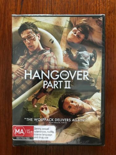 The Hangover Part II DVD Region 4 New & Sealed